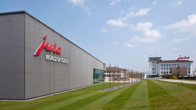 Der Hauptsitz der Jura Elektroapparate AG in Niederbuchsiten
