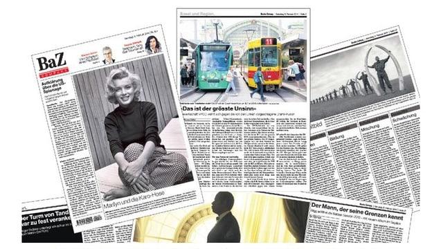 Neue Basler Zeitung im Tabloidformat