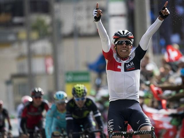 Der Kolumbianer Jarlinson Pantano, hier bei der 9. TdS-Etappe 2016.