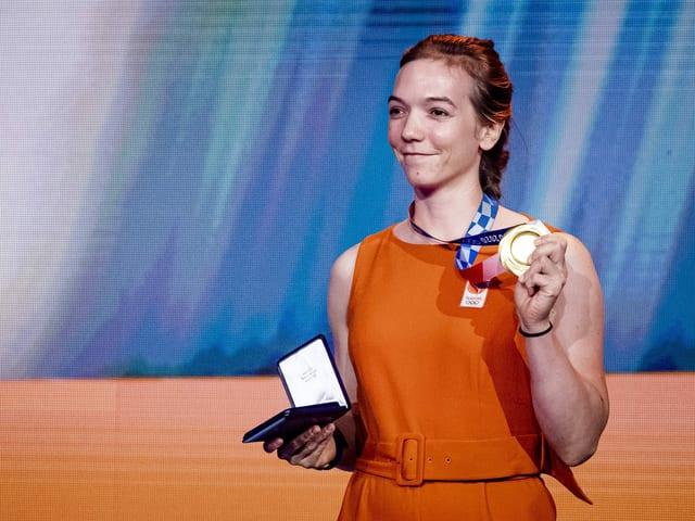 Shanne Braspennincx strahlt mit Olympia-Gold
