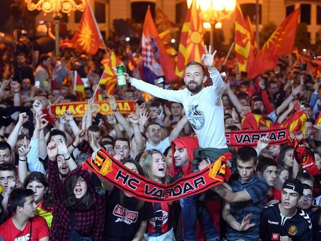 Der HC Vardar aus Skopje hat vor fast zwei Monaten die Handball Champions League gewonnen.