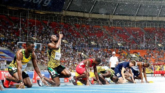 Usain Bolts Rekordmarken scheinen manchem Beobachter nicht von dieser Welt.
