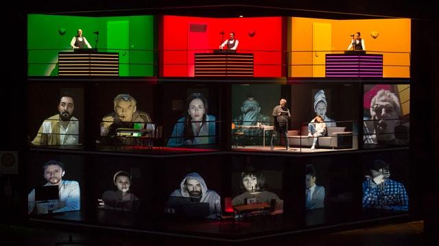 Bühnenszene aus der Oper