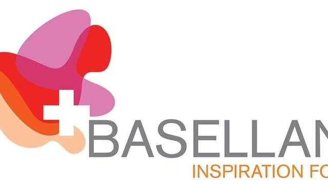 """Der Schriftzug Baselland zusammen mit der Ergänzung """"Inspiration for Business"""""""
