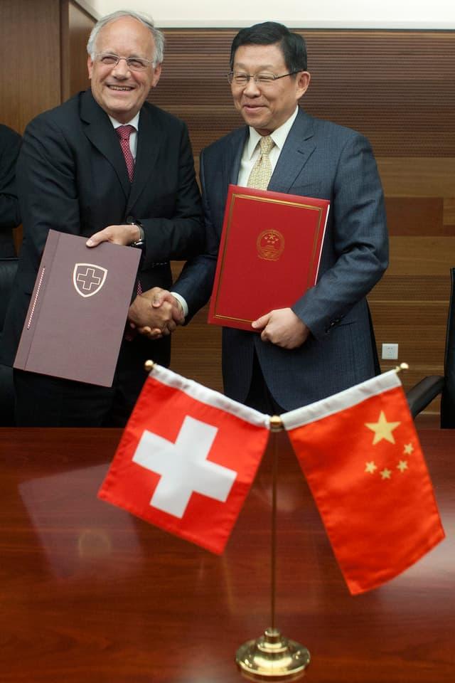 JSA und chinesischer Aussenminister.