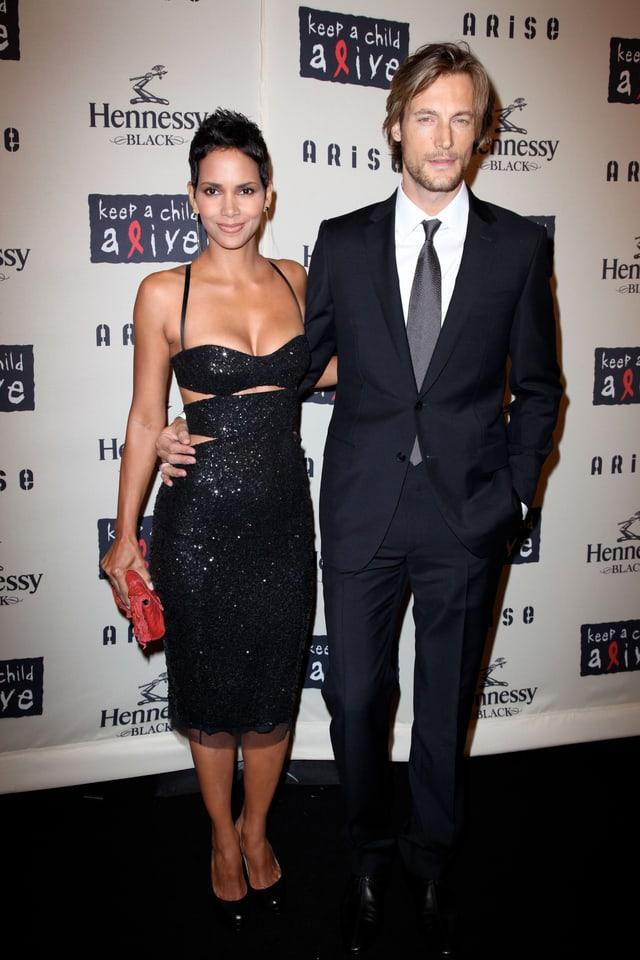 Halle Berry und Gabriel Aubry