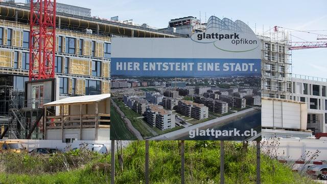 Werbeplakat Glattpark