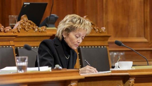 Finanzministerin Eveline Widmer-Schlumpf