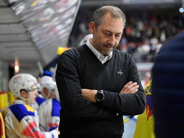 Klotens Headcoach André Rötheli.