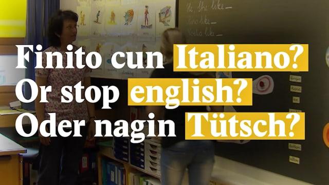 Laschar ir video «Linguatgs esters en las scolas primaras dil GR»