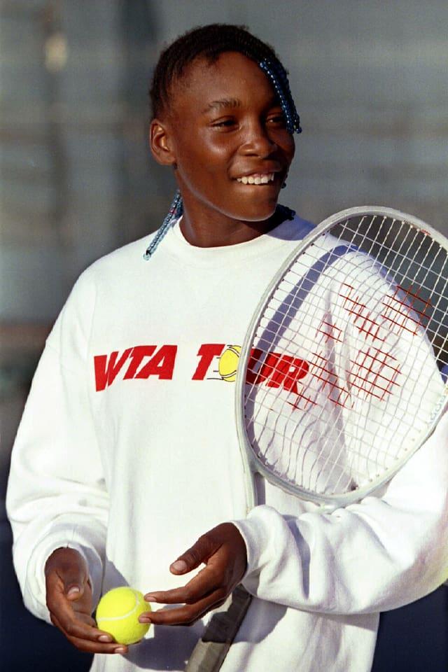 Venus Williams als 14-Jährige.