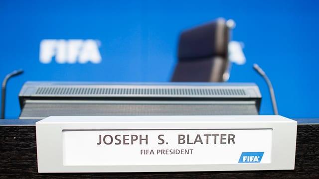 Sutga dal president da la FIFA