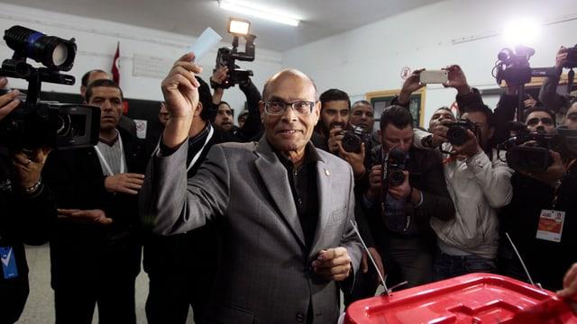 Tunesiens Übergangspräsident Moncef Marzouki