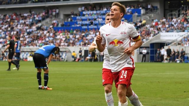 Leipzig-Spieler Dominik Kaiser.
