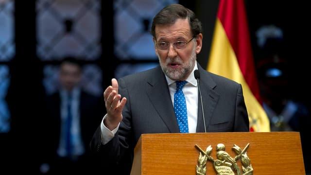 Il primminster conservativ Mariano Rajoy tegna in pled.