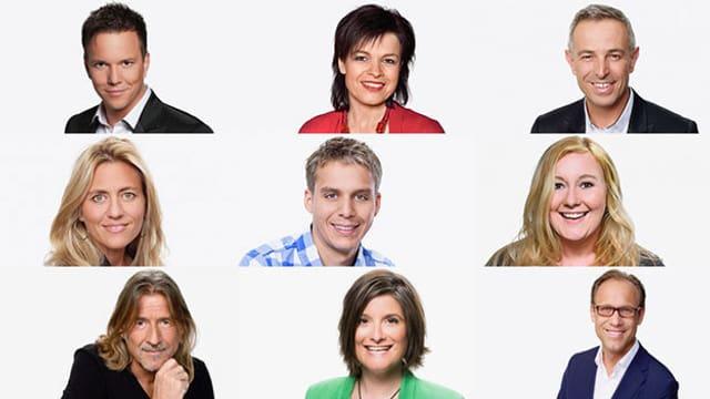 Moderatoren von Radio SRF 1.