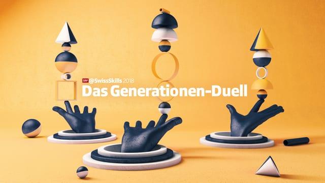 Das Logo der Sendung «Das Generationen-Duell»
