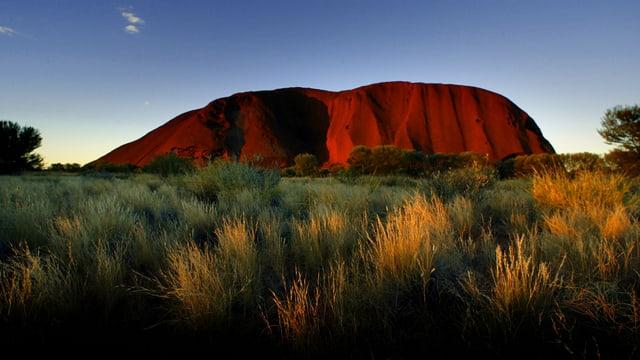 Der Heilige Berg «Uluru», auch «Ayers Rock» genannt.