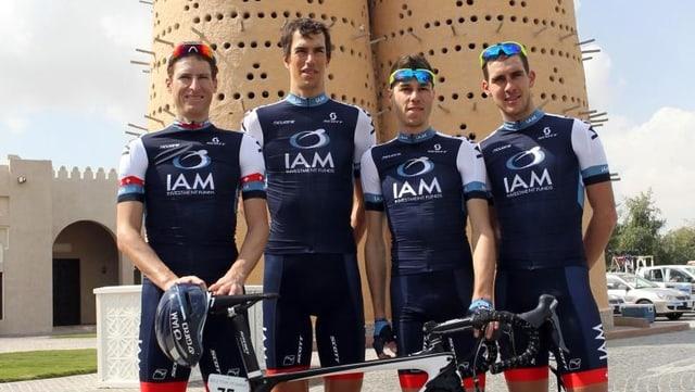Das Schweizer Team IAM Cycling wird bei der Tour de Suisse starten.
