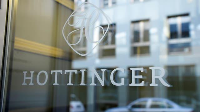 Das Logo der Privatbank Hottinger.
