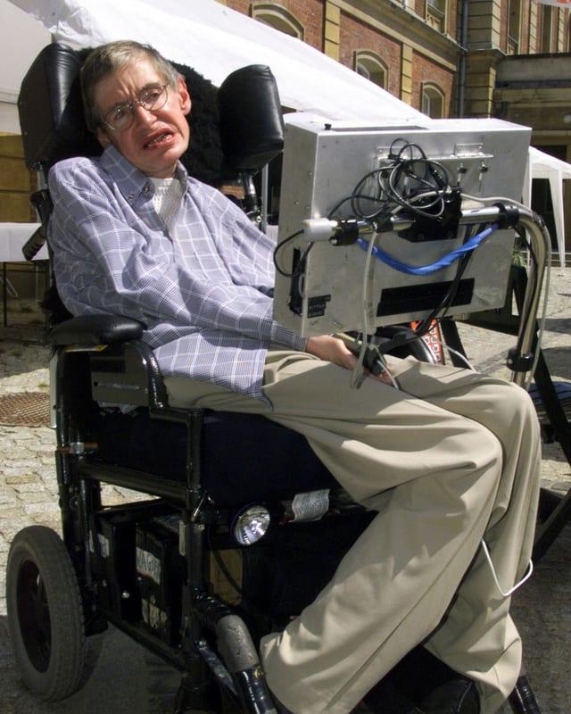 Physiker Im Rollstuhl
