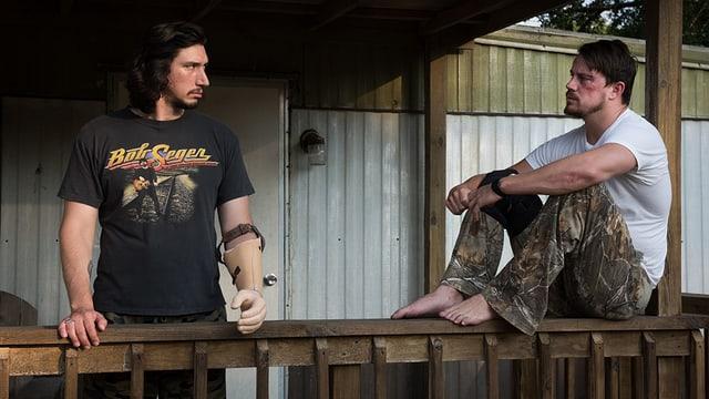 Die beiden Logan-Brüder auf der Vreanda.
