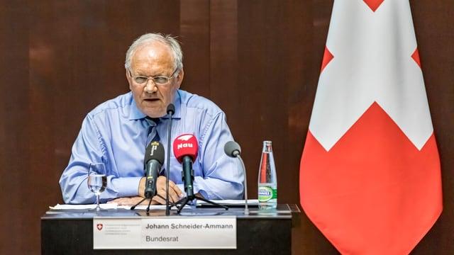 Johann Schneider-Ammann.