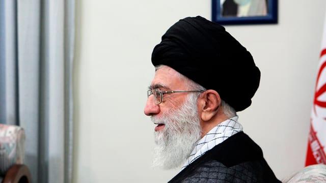 Il pli aut clerical da l'Iran, Ayatollah Ali Chamenei.