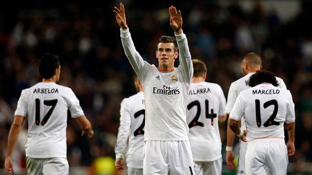 Gareth Bale eröffnete den Torreigen in Madrid.