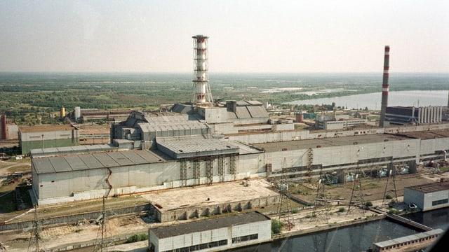 Atomkraftwerk Tschernobyl 1998