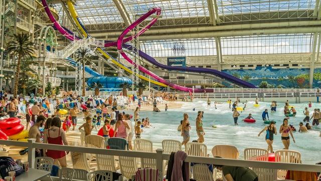 Der Pool der «West Edmonton Mall» in Kanada.