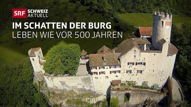 Neu-Bechburg bei Oensingen im Kanton Solothurn