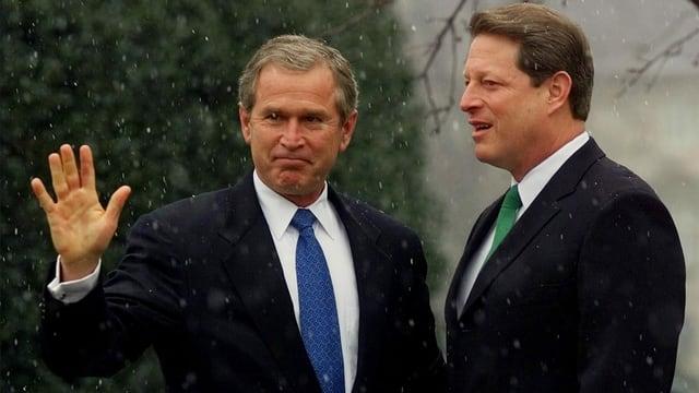 Chaos bei Präsidentschaftswahl 2000