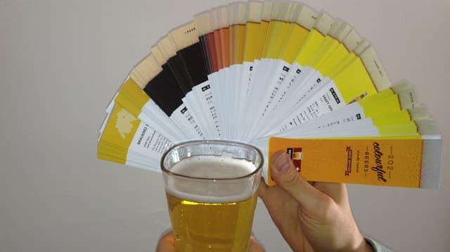 «Beertone» - eine Erfindung aus der Ostschweiz bestimmt Biersorten anhand der Farbe.