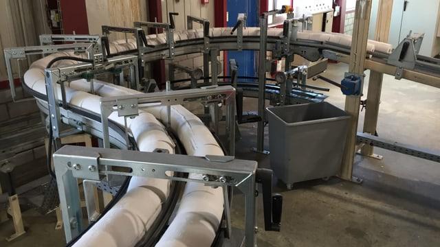 Produktion von WC-Papier
