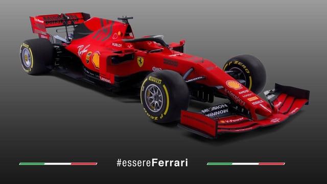 Der neue Ferrari-Bolide.