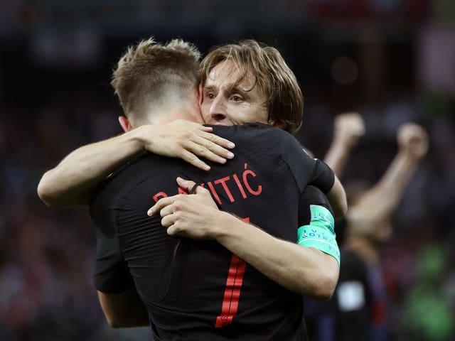 Ivan Rakitic und Luka Modric.