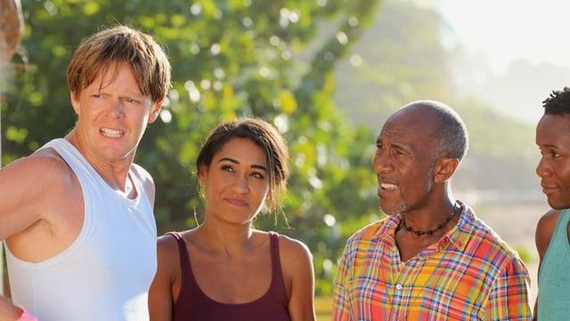 Der Cast von «Death in Paradise»