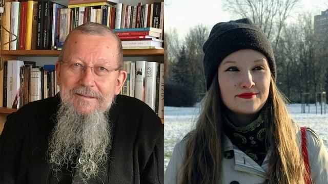 Für Pater Roman Trzcinski sind Schwule und Lesben krank. Die lesbische Katholikin Ula Grymuła will die Kirche von Innen verändern.