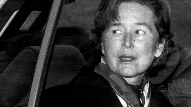 Elisabeth Kopp einen Tag nach dem Rücktritt.