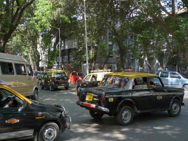 Ein Bild von Dadar, Mumbai.
