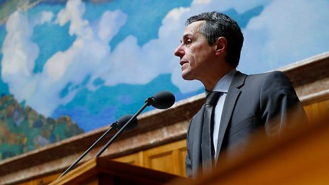 Minister da l'exteriur Ignazio Cassis.