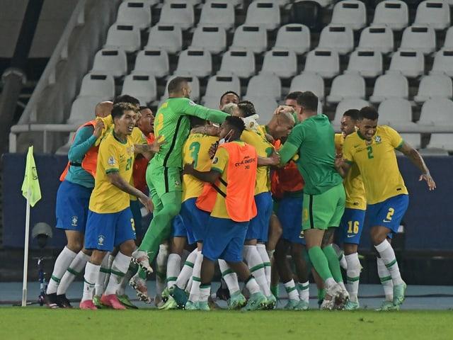 Brasilien jubelt an der Copa America.