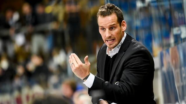 Patrick Fischer a la banda dal HC Lugano.