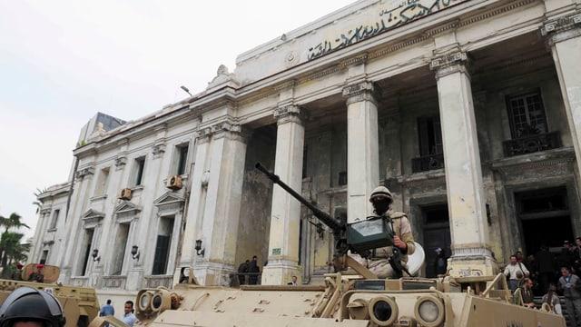 Il bajetg da la Dretgira penala ad Alexandria en Egipta.