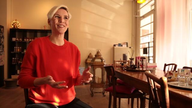 Sexualtherapeutin Caroline Fux
