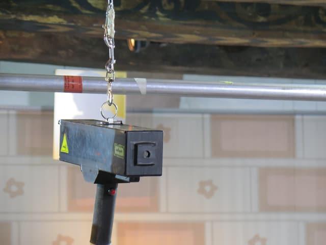 Die Laser-Pistole des Kunst-Reinigungsgeräts