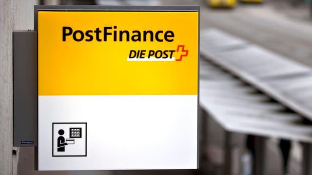 Il logo da la Postfinance.
