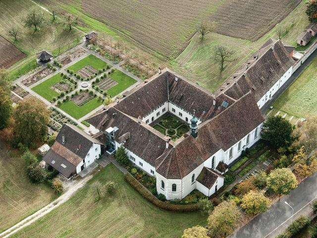 Kloster von oben (Flugaufnahme)
