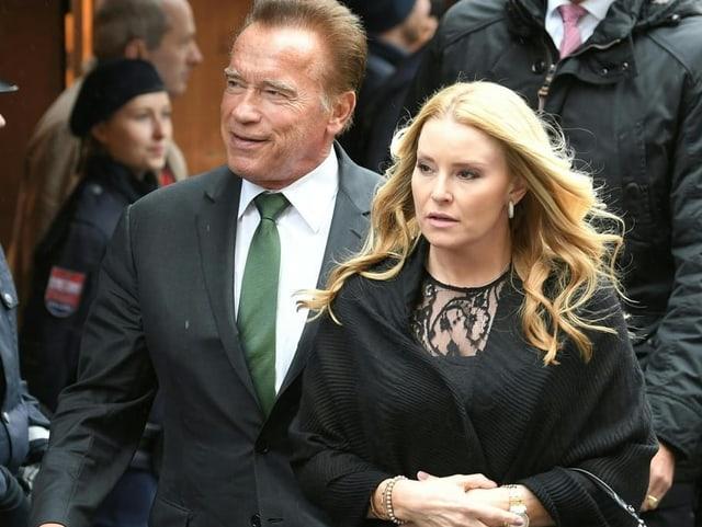 Arnold Schwarzenegger und Partnerin Heather Milligan.